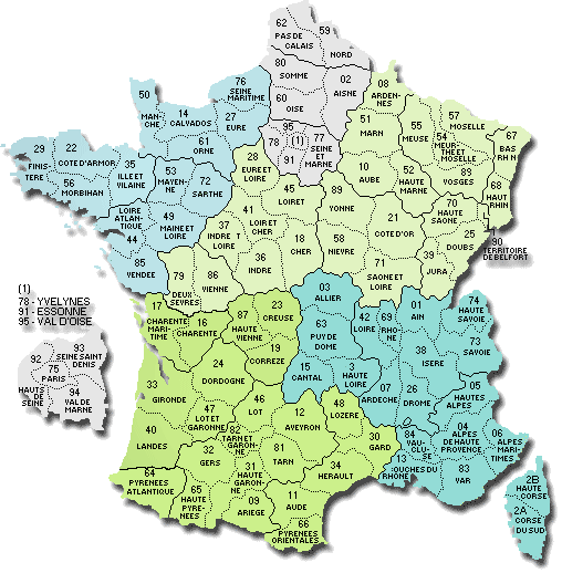 Carte Ville Decoupee